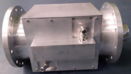 Figure 1: Developed 60 kW RF Broadband Dual Directional Coupler