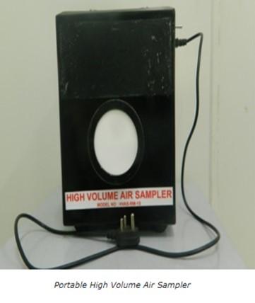 Portable High Volume Air Sampler