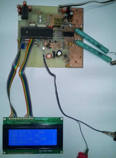 PCB of Pico-Ammeter