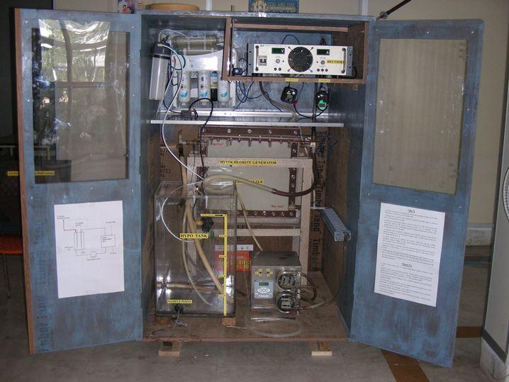The Sodium Hypochlorite Electrolyser Plant