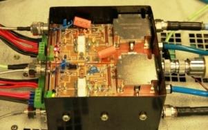 RF amplifier module at 650 MHz