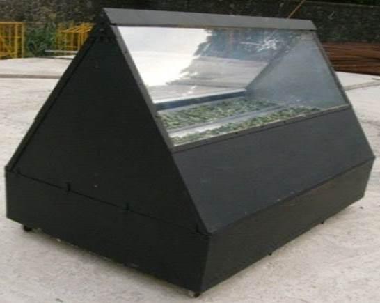 Foldable Solar Dryer
